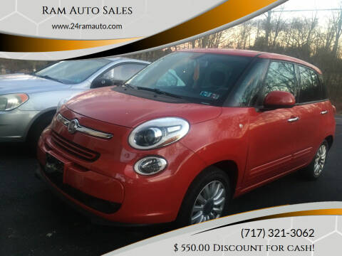 2014 FIAT 500L for sale at Ram Auto Sales in Gettysburg PA