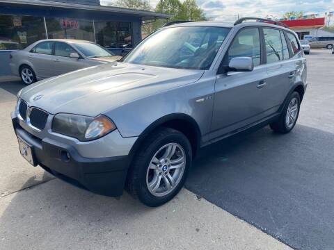 2005 BMW X3 for sale at Wise Investments Auto Sales in Sellersburg IN