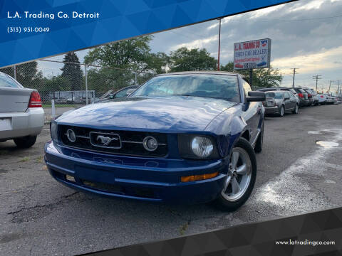 2007 Ford Mustang for sale at L.A. Trading Co. Detroit in Detroit MI