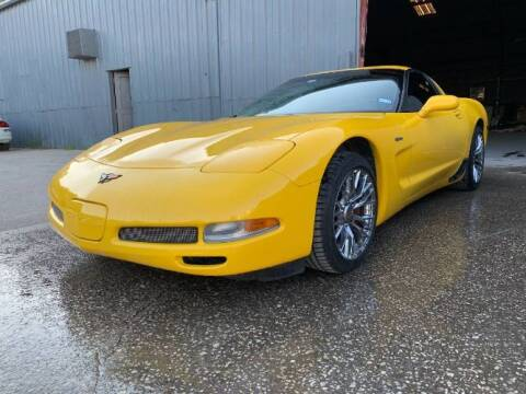 2002 Chevrolet Corvette for sale at Classic Car Deals in Cadillac MI