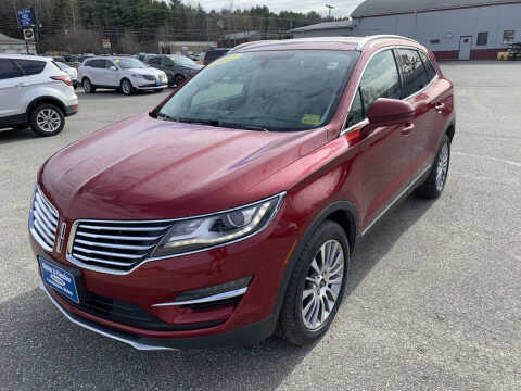 2017 Lincoln MKC for sale at Ripley & Fletcher Pre-Owned Sales & Service in Farmington ME