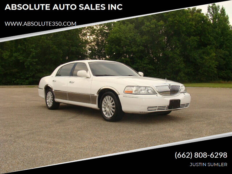 2004 Lincoln Town Car for sale at ABSOLUTE AUTO SALES INC in Corinth MS