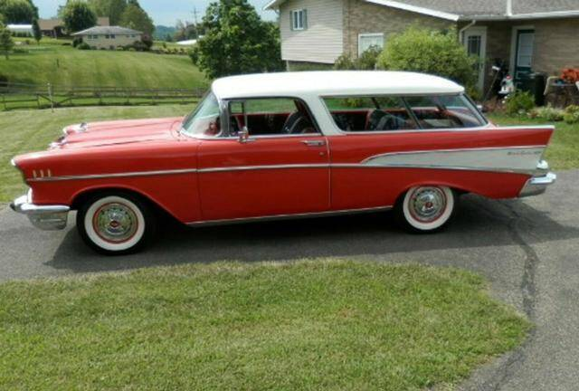 1957 Chevrolet Nomad for sale at CarsBikesBoats.com in Round Mountain TX