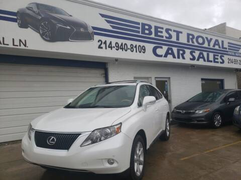 2011 Lexus RX 350 for sale at Best Royal Car Sales in Dallas TX