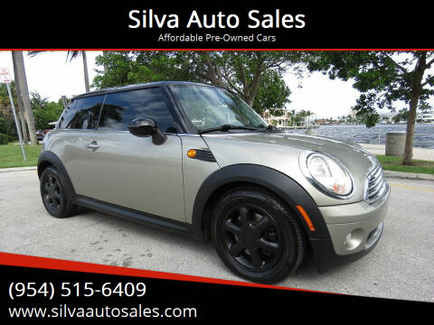 2010 MINI Cooper for sale at Silva Auto Sales in Pompano Beach FL