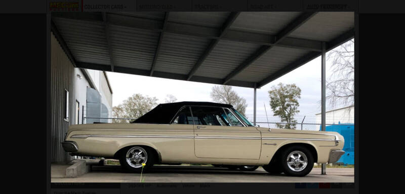 1964 Dodge Polara for sale at Bayou Classics and Customs in Parks LA