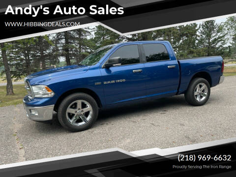 2011 RAM Ram Pickup 1500 for sale at Andy's Auto Sales in Hibbing MN