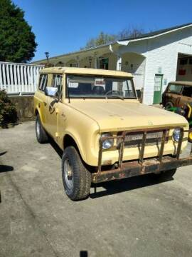 1968 International Scout for sale at Classic Car Deals in Cadillac MI
