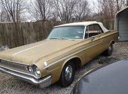 1964 Dodge Polara for sale at Classic Car Deals in Cadillac MI