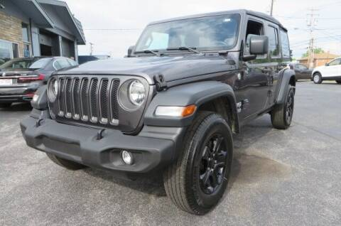 2021 Jeep Wrangler Unlimited for sale at Eddie Auto Brokers in Willowick OH