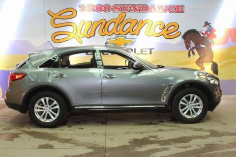 2017 Infiniti QX70 for sale at Sundance Chevrolet in Grand Ledge MI