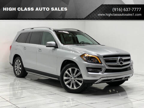 2014 Mercedes-Benz GL-Class for sale at HIGH CLASS AUTO SALES in Rancho Cordova CA
