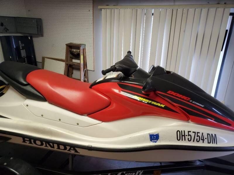 2002 Honda Aqua Trax for sale at Affordable Auto Sales & Service in Barberton OH
