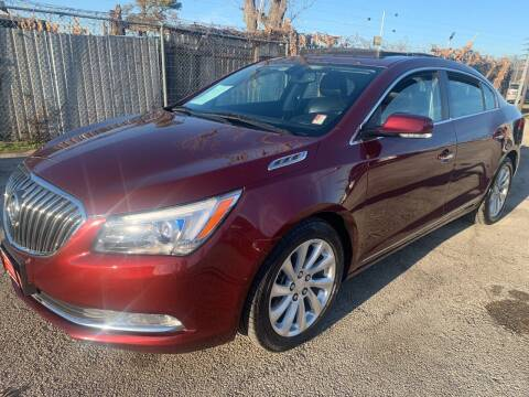 2015 Buick LaCrosse for sale at FAIR DEAL AUTO SALES INC in Houston TX