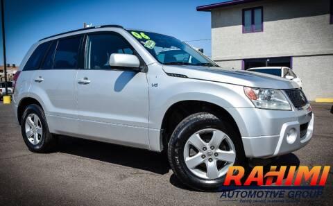 2006 Suzuki Grand Vitara for sale at Rahimi Automotive Group in Yuma AZ
