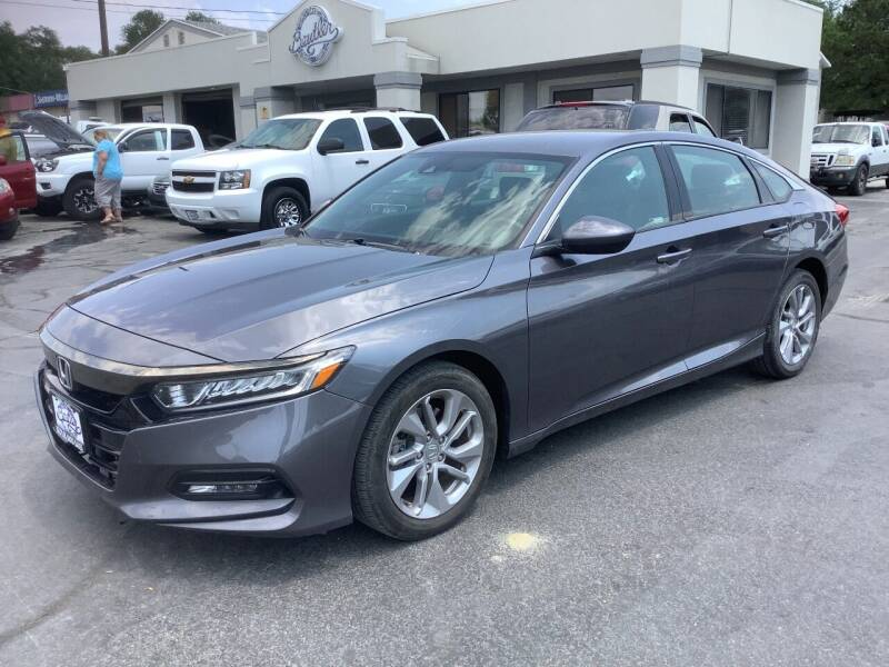 2018 Honda Accord for sale at Beutler Auto Sales in Clearfield UT