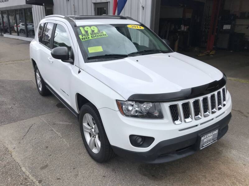 2014 Jeep Compass for sale at New England Motors of Leominster, Inc in Leominster MA