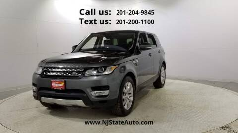 2017 Land Rover Range Rover Sport for sale at NJ State Auto Used Cars in Jersey City NJ