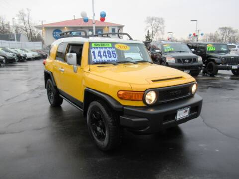 2007 Toyota FJ Cruiser for sale at Auto Land Inc in Crest Hill IL
