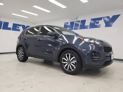 2017 Kia Sportage for sale at HILEY MAZDA VOLKSWAGEN of ARLINGTON in Arlington TX