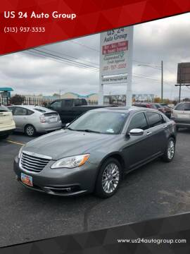 2012 Chrysler 200 for sale at US 24 Auto Group in Redford MI