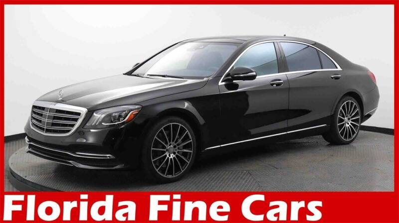 2018 Mercedes-Benz S-Class for sale at Florida Fine Cars - West Palm Beach in West Palm Beach FL