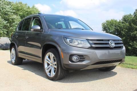 2016 Volkswagen Tiguan for sale at Harrison Auto Sales in Irwin PA