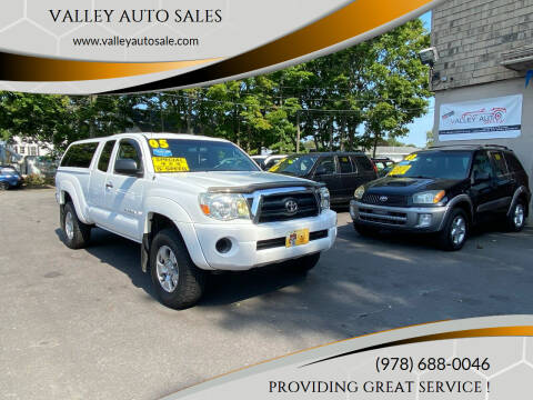 2005 Toyota Tacoma for sale at VALLEY AUTO SALES in Methuen MA