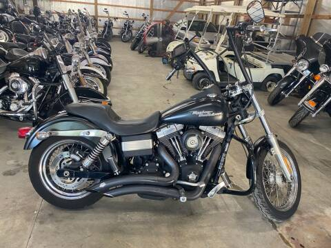 2008 Harley Davidson Street Bob Dyna for sale at CarSmart Auto Group in Orleans IN