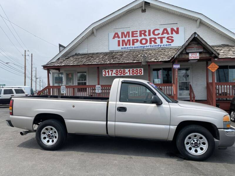 2005 GMC Sierra 1500 for sale at American Imports INC in Indianapolis IN