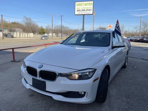 2014 BMW 3 Series for sale at Shock Motors in Garland TX