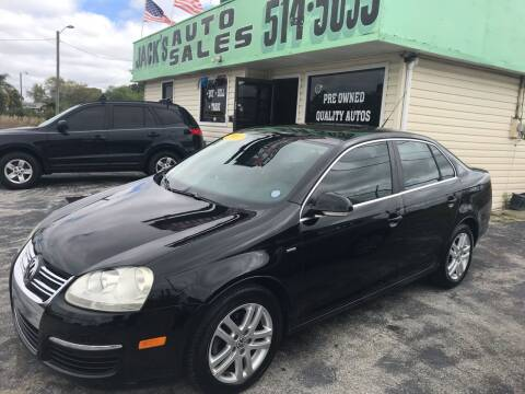 2007 Volkswagen Jetta for sale at Jack's Auto Sales in Port Richey FL