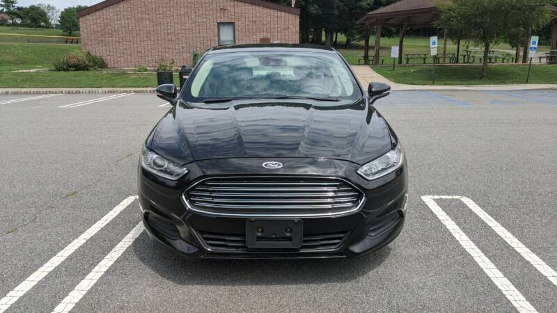 2016 Ford Fusion for sale at Shah Motors LLC in Paterson NJ