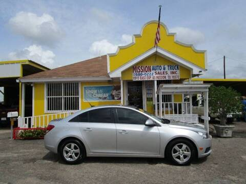 2014 Chevrolet Cruze for sale at Mission Auto & Truck Sales, Inc. in Mission TX