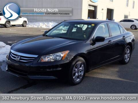 2012 Honda Accord for sale at 1 North Preowned in Danvers MA