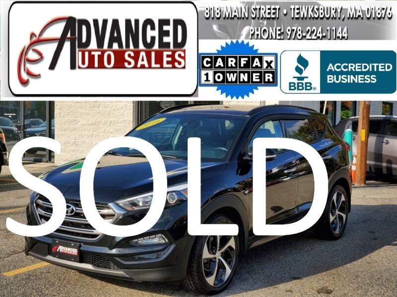2016 Hyundai Tucson for sale at Advanced Auto Sales in Tewksbury MA