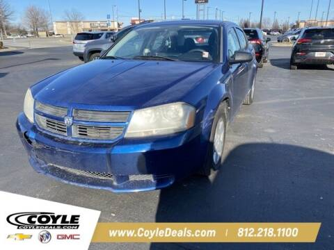2010 Dodge Avenger for sale at COYLE GM - COYLE NISSAN - Coyle Nissan in Clarksville IN