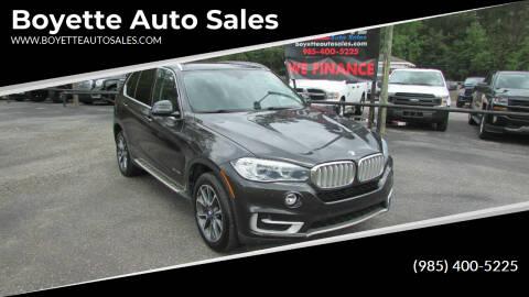 2015 BMW X5 for sale at Auto Group South - Boyette Auto Sales in Covington LA
