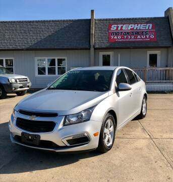 2016 Chevrolet Cruze Limited for sale at Stephen Motor Sales LLC in Caldwell OH