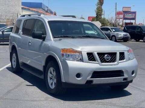 2015 Nissan Armada for sale at Brown & Brown Wholesale in Mesa AZ