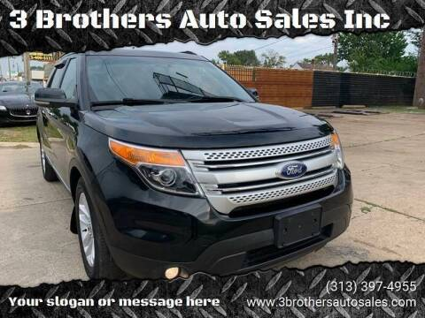 2011 Ford Explorer for sale at 3 Brothers Auto Sales Inc in Detroit MI