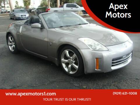 2007 Nissan 350Z for sale at Apex Motors in Montclair CA