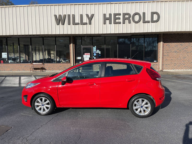 2013 Ford Fiesta for sale at Willy Herold Automotive in Columbus GA