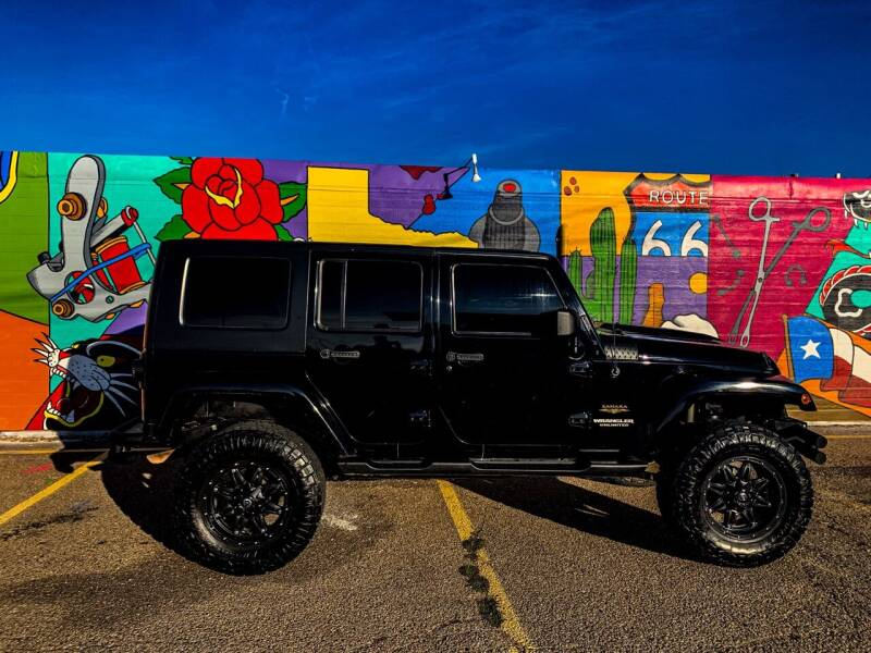 2012 Jeep Wrangler Unlimited for sale at Mickdiesel Motorplex in Amarillo TX
