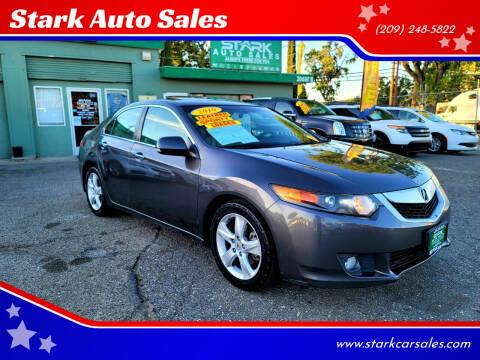 2010 Acura TSX for sale at Stark Auto Sales in Modesto CA