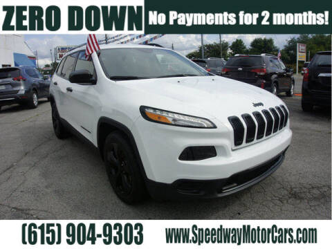 2017 Jeep Cherokee for sale at Speedway Motors in Murfreesboro TN