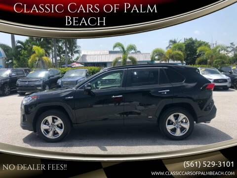 2019 Toyota RAV4 Hybrid for sale at Classic Cars of Palm Beach in Jupiter FL