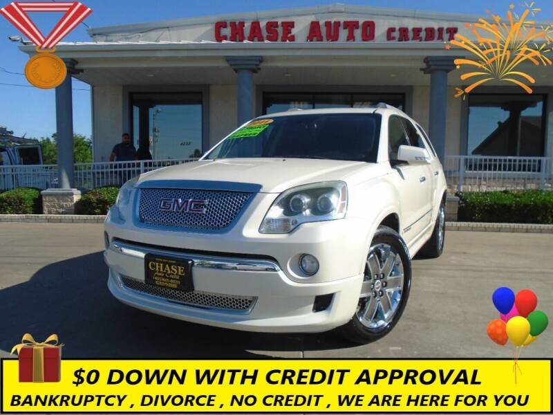 2011 GMC Acadia for sale at Chase Auto Credit in Oklahoma City OK