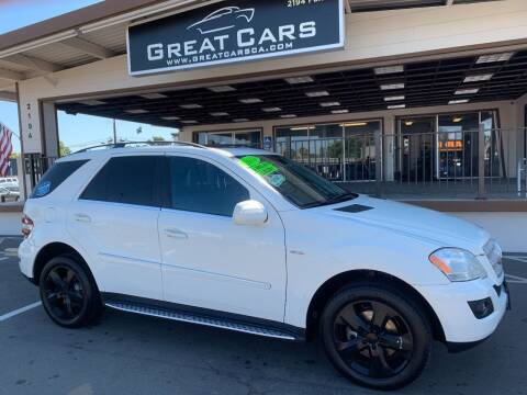 2010 Mercedes-Benz M-Class for sale at Great Cars in Sacramento CA