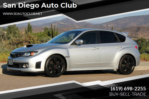 2008 Subaru Impreza for sale at San Diego Auto Club in Spring Valley CA
